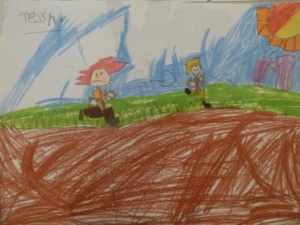 The Race, by Tessa, Year One
